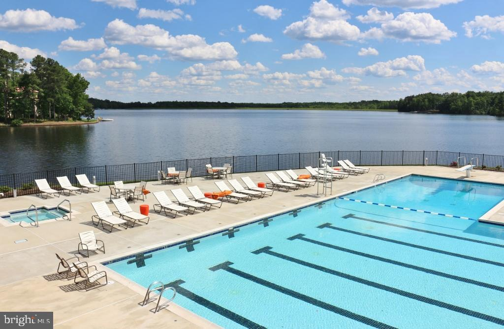 Enjoy the Olympic Sized Community Pool - 11500 TURNING LEAF CT, SPOTSYLVANIA