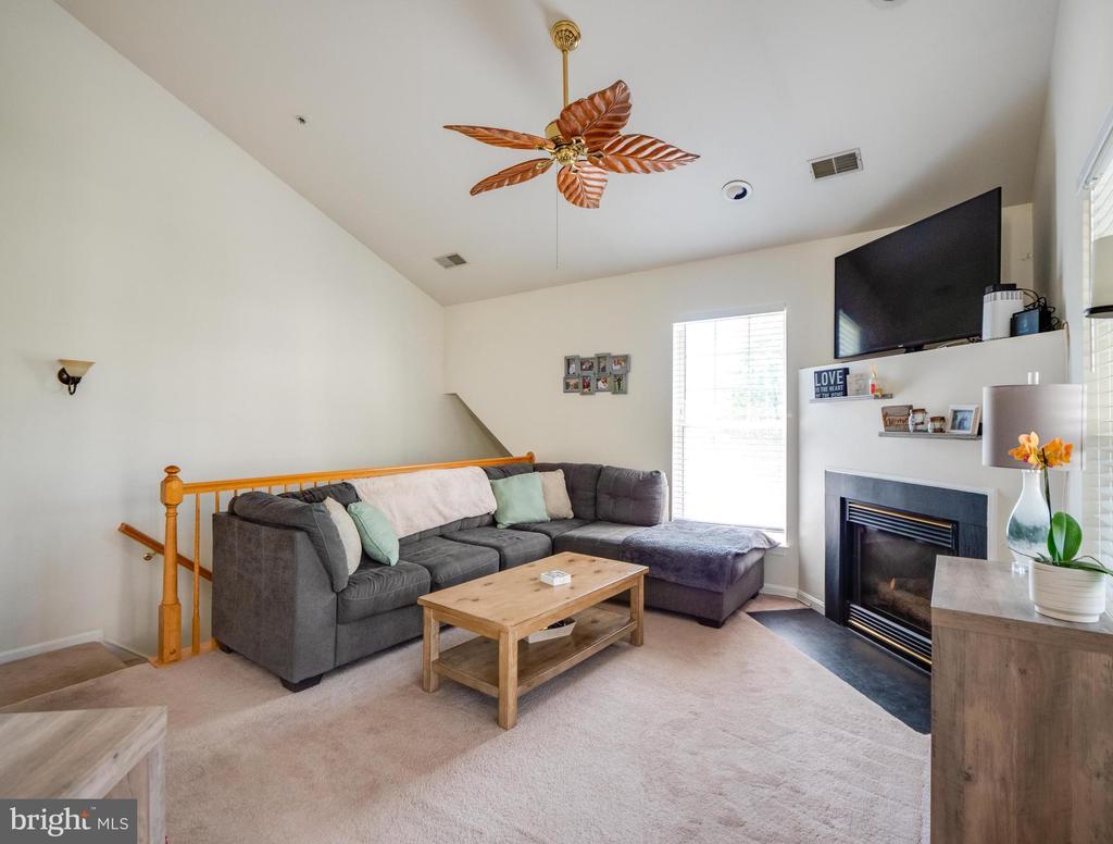 Sunny & spacious living room - 25300 LAKE MIST SQ #205, CHANTILLY