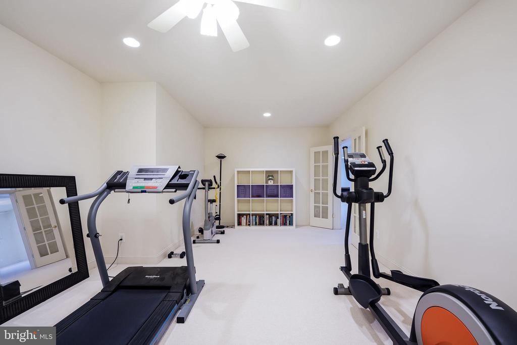 Home gym - 3680 WAPLES CREST CT, OAKTON