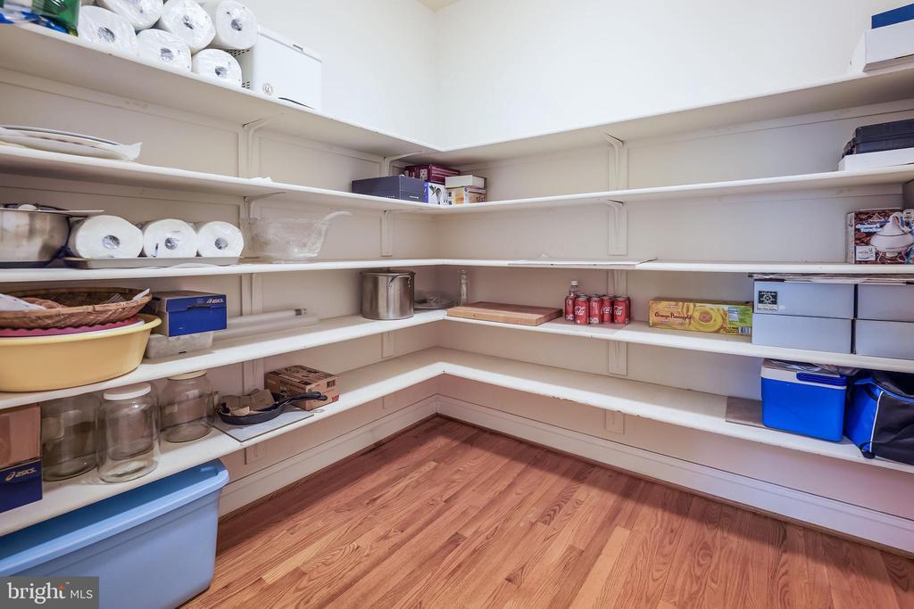 Super-sized pantry - 3680 WAPLES CREST CT, OAKTON