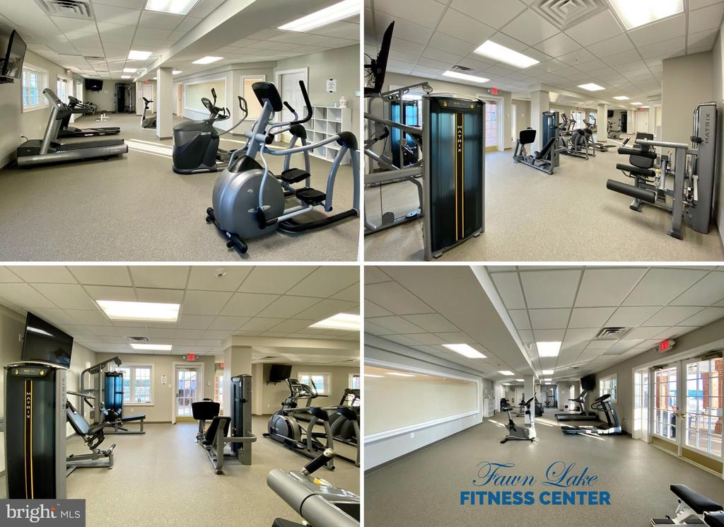 Fitness Center Offered in the Community Clubhouse - 11500 TURNING LEAF CT, SPOTSYLVANIA