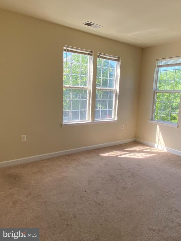 Bedroom 1 with 2 side windows - 22664 BLUE ELDER TER #202, BRAMBLETON