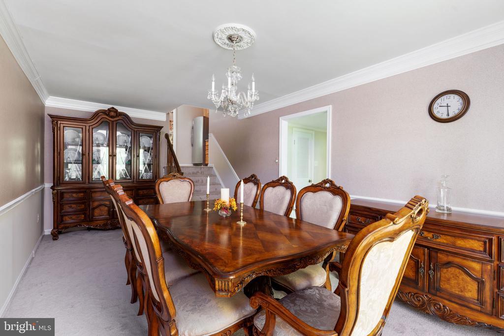 Dining Room - 8121 RONDELAY LN, FAIRFAX STATION