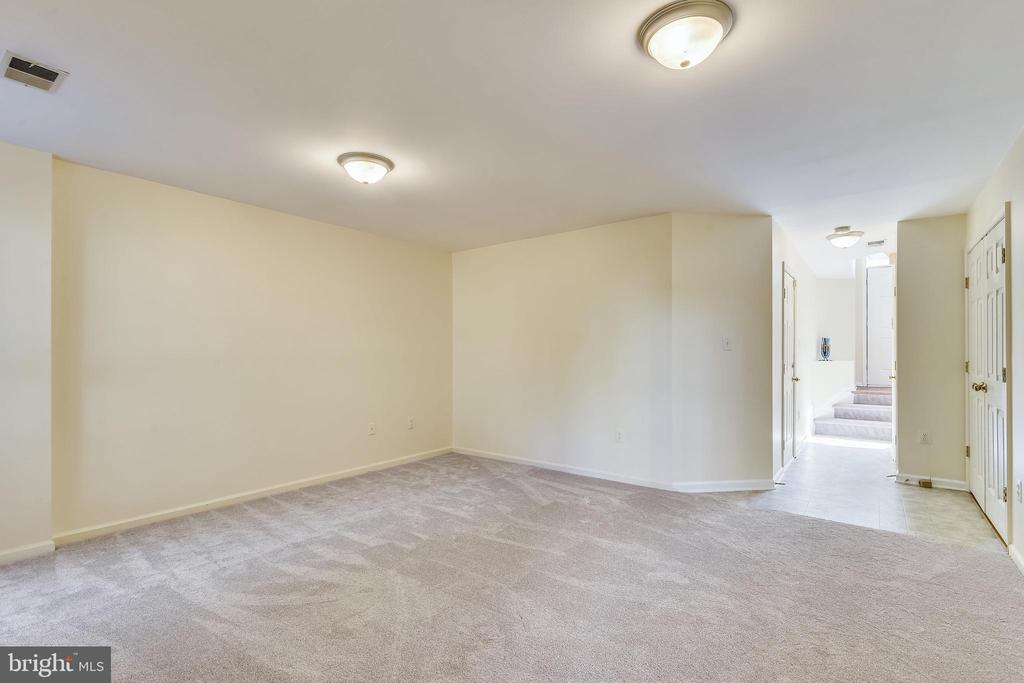 Spacious Recreation Room in Lower Level - 21657 FRAME SQ, BROADLANDS