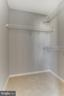 Spacious closet/master bed. - 1328 N ADAMS CT, ARLINGTON