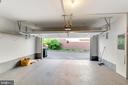 Garage for 2 cars wit a new garage door - 1328 N ADAMS CT, ARLINGTON