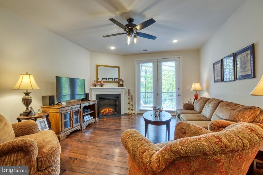 French Doors Lead to Outside Deck - 43095 WYNRIDGE DR #203, BROADLANDS