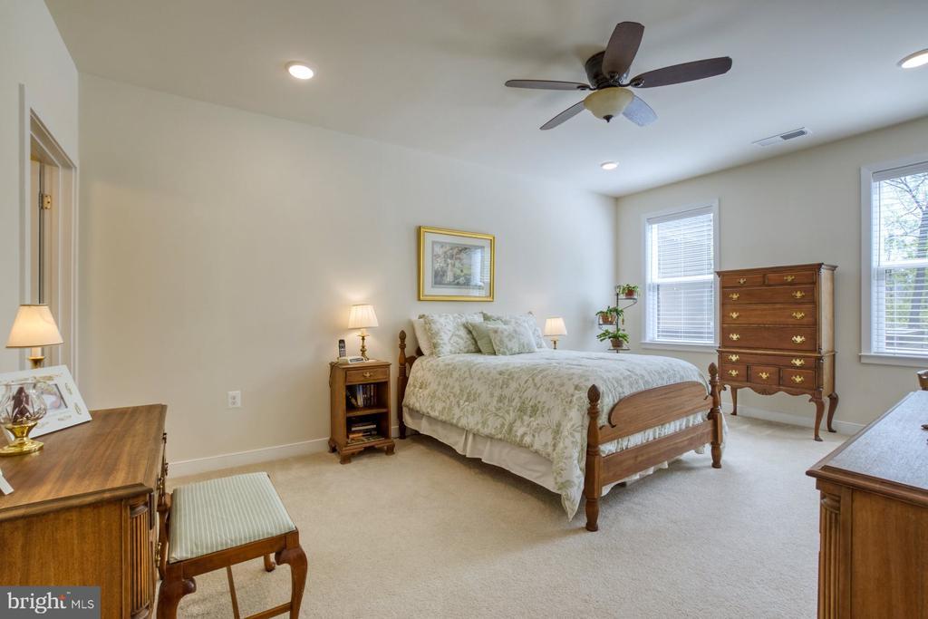 Primary Bedroom has Lots of Natural Light - 43095 WYNRIDGE DR #203, BROADLANDS