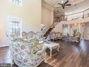 DBL Story Living Room Backview - 12809 GLENDALE CT, FREDERICKSBURG