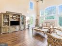 Living Room Side View - 12809 GLENDALE CT, FREDERICKSBURG