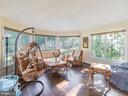 BreakFast Nook off the Main Kitchen-Side View - 12809 GLENDALE CT, FREDERICKSBURG