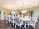 Main Great Dining Room- - 12809 GLENDALE CT, FREDERICKSBURG