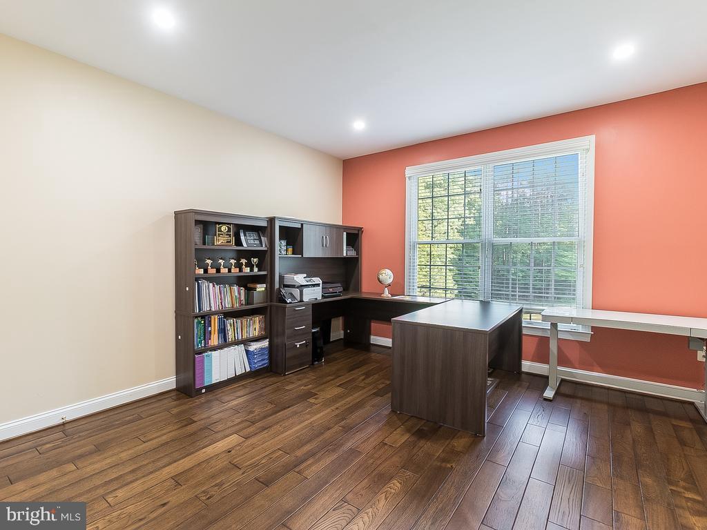 the Main Level Bedroom OR Office - 12809 GLENDALE CT, FREDERICKSBURG