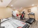 Basement Fitness Area-1 - 12809 GLENDALE CT, FREDERICKSBURG