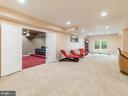 Long Open REC Room off the Theatre Hall - 12809 GLENDALE CT, FREDERICKSBURG