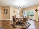 2ND Dining Area Off the Open Kitchen -1 - 12809 GLENDALE CT, FREDERICKSBURG