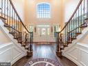 Entrance Foyer Passage-DBL Ceiling Height - 12809 GLENDALE CT, FREDERICKSBURG