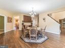 2ND Extra Dining Area Off the Open Kitchen -1 - 12809 GLENDALE CT, FREDERICKSBURG