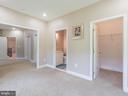 Nanny's Suite Walk In Closet & 2ND Closet - 12809 GLENDALE CT, FREDERICKSBURG