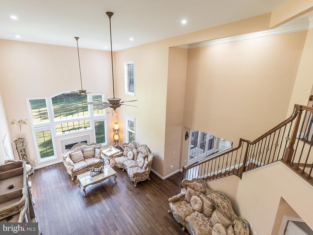 Living Room-DBL Story Ceiling Height - 12809 GLENDALE CT, FREDERICKSBURG