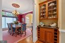 Convenient Butler's Pantry with Wine Storage - 11500 TURNING LEAF CT, SPOTSYLVANIA