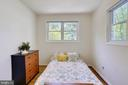 Another View of the bedroom - 2415 EVANS DR, SILVER SPRING