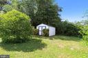 Backyard Shed - 2415 EVANS DR, SILVER SPRING
