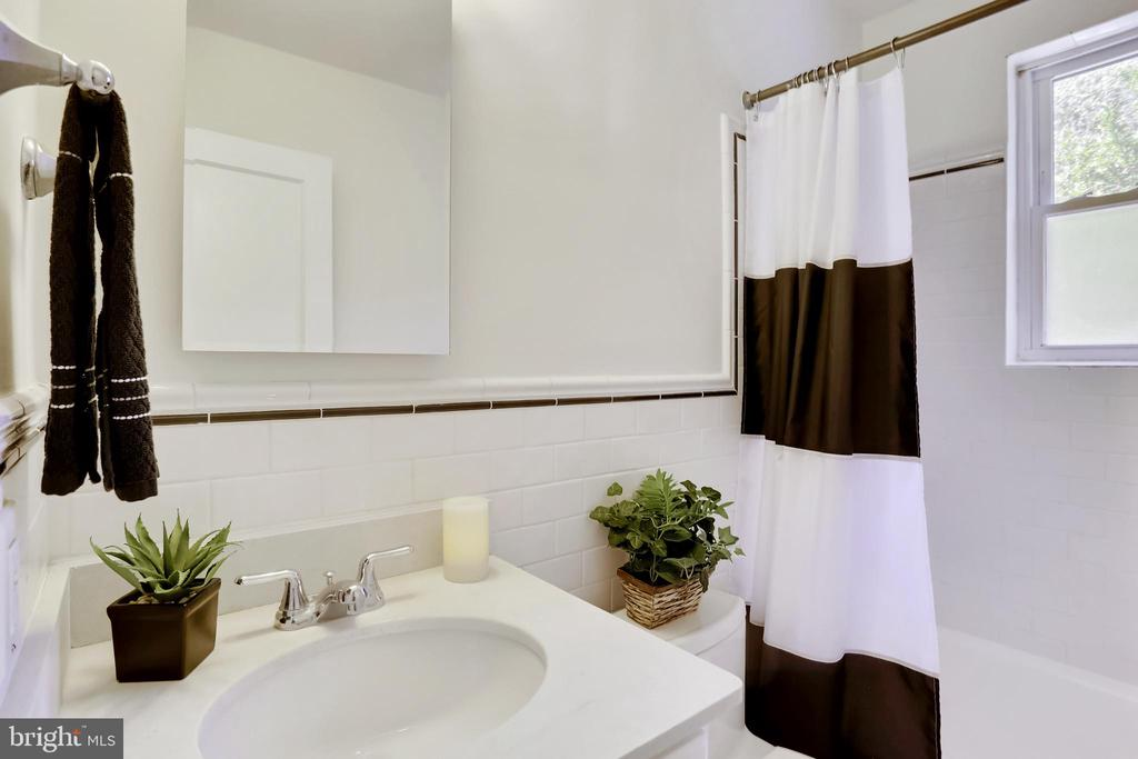 Another View of Bath (window in shower area) - 2415 EVANS DR, SILVER SPRING