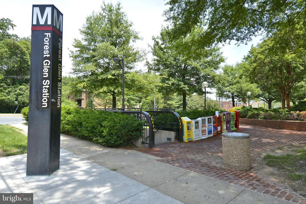 Forest Glen Metro - walking distance from house - 2415 EVANS DR, SILVER SPRING