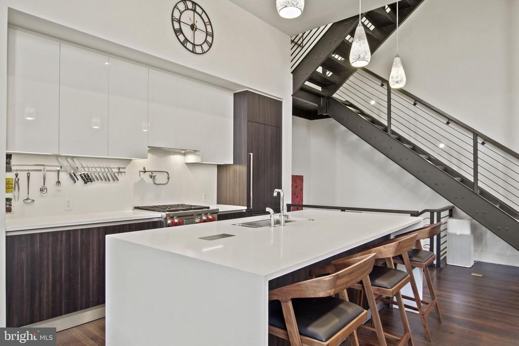 Kitchen - Top of the line appliances. - 609 MARYLAND AVE NE #1, WASHINGTON