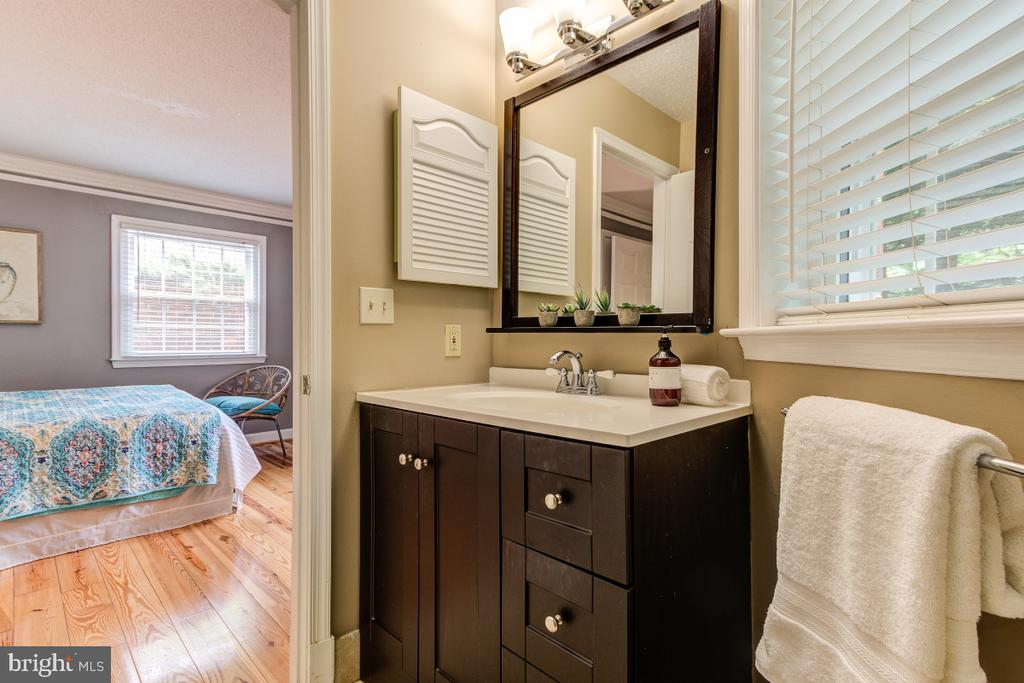 Bathroom 1 - attached to  Bedroom 1 - 4345 MASSACHUSETTS AVE NW #4345, WASHINGTON