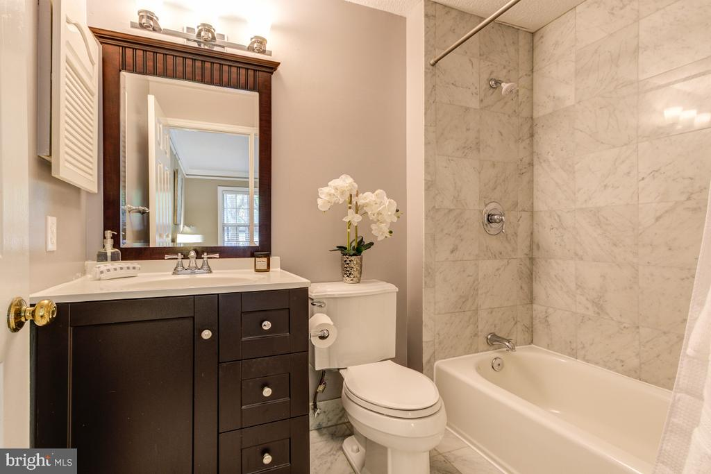 Bathroom 1 - updated! - 4345 MASSACHUSETTS AVE NW #4345, WASHINGTON