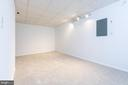 Pic 1-Basement Recreation Room - 5 BARNSWALLOW CT, STERLING