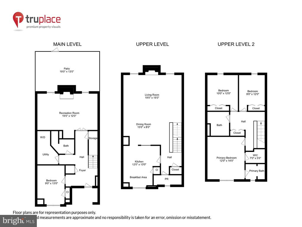 2,106 SF of Full Daylight Living Space on 3 Levels - 1186 N VERMONT ST, ARLINGTON