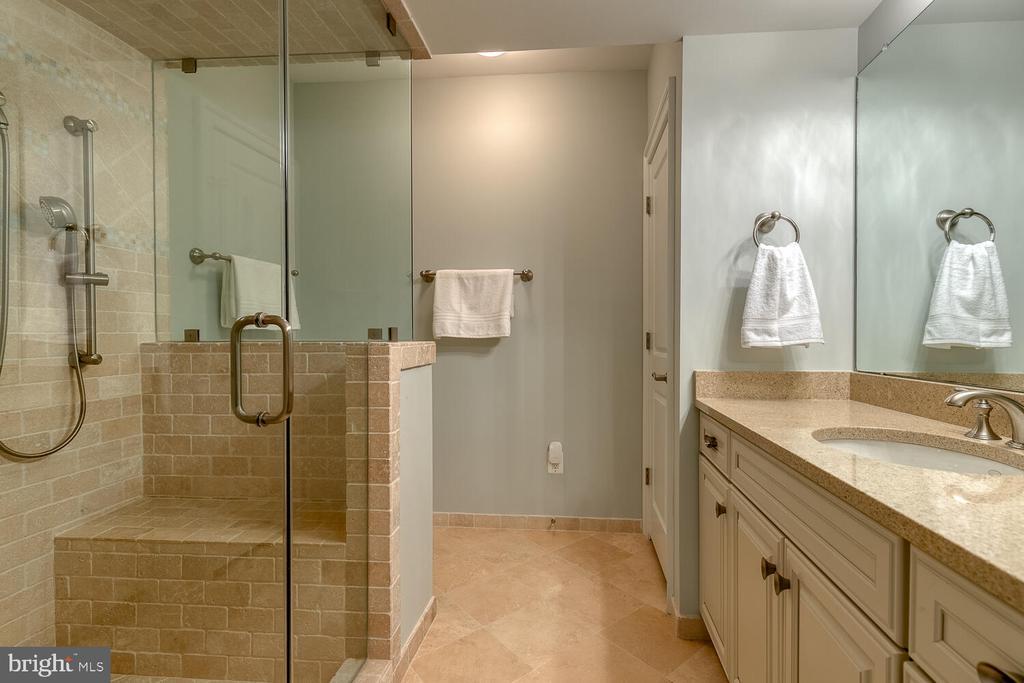 En suite bath in lower level. - 42091 NOLEN CT, LEESBURG