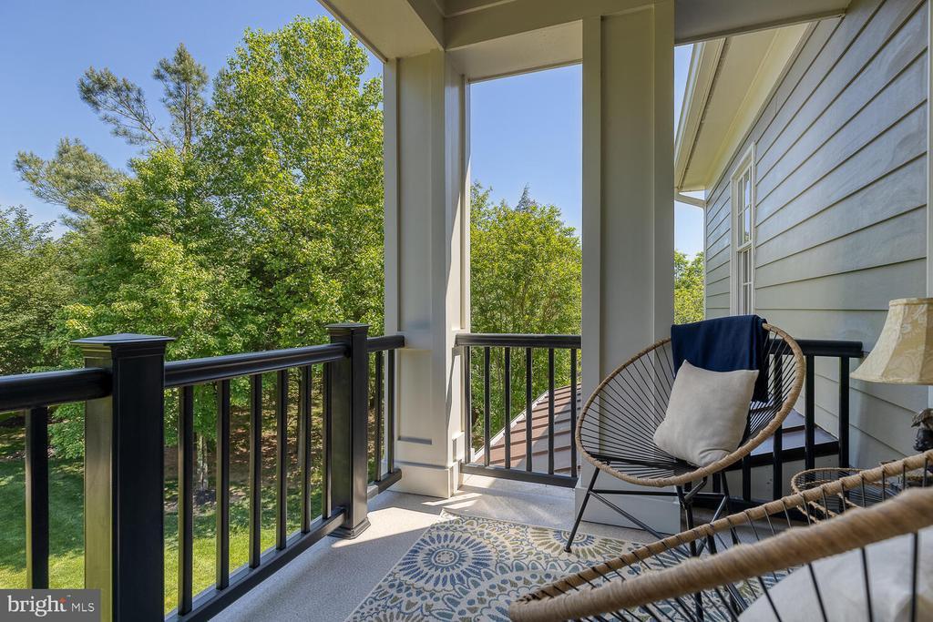 Veranda off primary bedroom. - 42091 NOLEN CT, LEESBURG