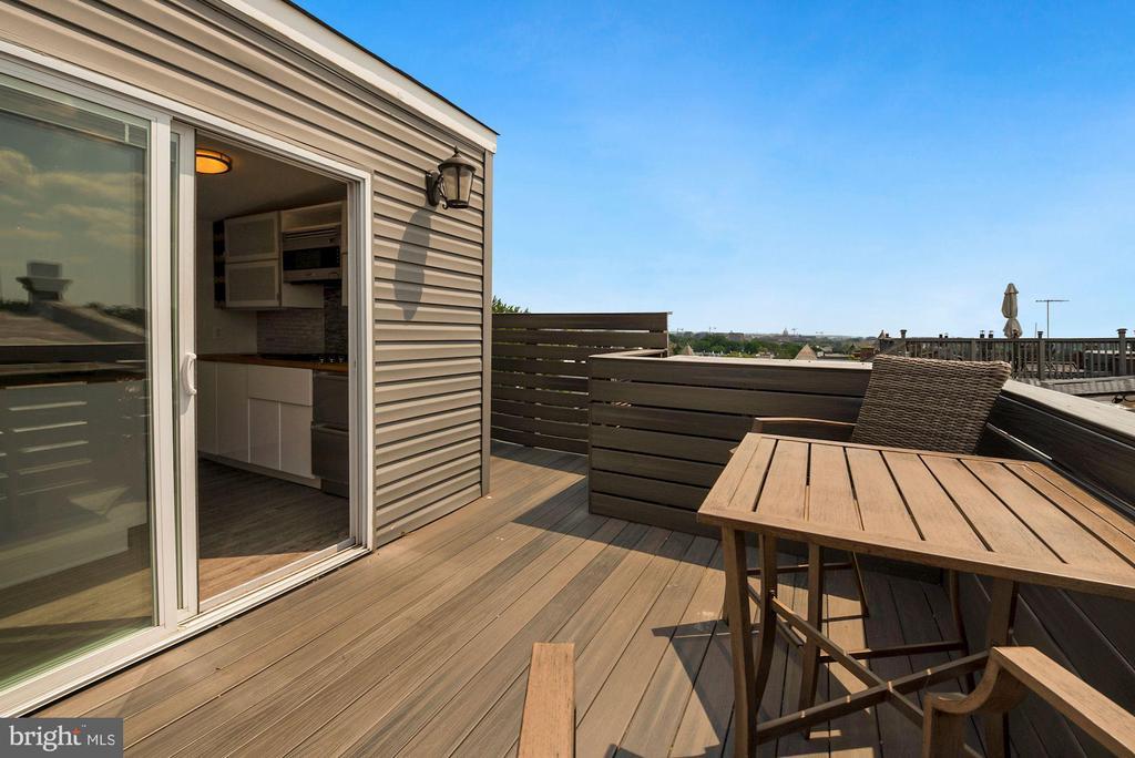 Roof Deck Patio - 2419 1ST ST NW #2, WASHINGTON