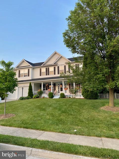 Front - 500 ROSEMARY LN, PURCELLVILLE