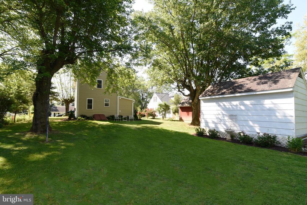 Back yard - 125 VIRGINIA AVE, BERRYVILLE