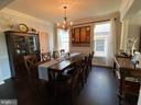 Formal Dining Room Comfortably  Seats 8 - 20343 FISHERS ISLAND CT, ASHBURN