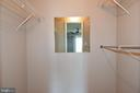 One of two closets in MBR - 900 N STAFFORD ST #2531, ARLINGTON