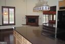 Main House Kitchen w/ fireplace - 8250 OLD COLUMBIA RD, FULTON