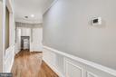 Front Hallway With Hardwood Floors - 44484 MALTESE FALCON SQ, ASHBURN