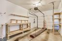 Garage With Work Bench & Storage Shelving - 44484 MALTESE FALCON SQ, ASHBURN