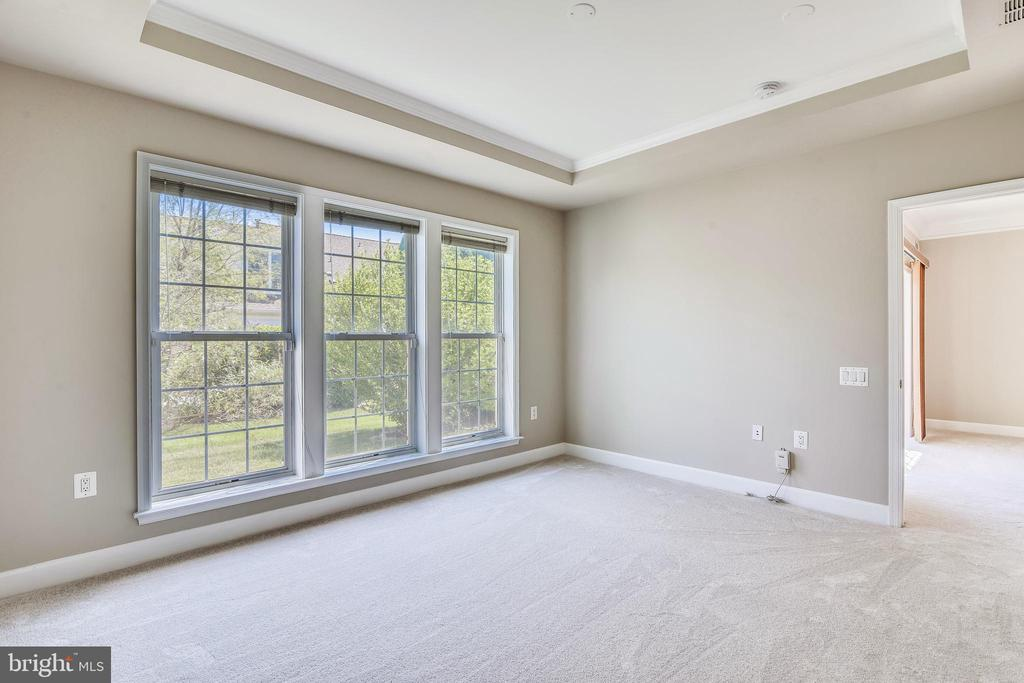 Primary Bedroom With 3 Floor To Ceiling Windows - 44484 MALTESE FALCON SQ, ASHBURN
