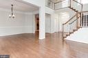 Impressive stairway - 42918 PARK BROOKE CT, BROADLANDS
