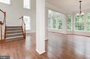 Open floor plan - 42918 PARK BROOKE CT, BROADLANDS