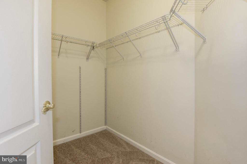 His walk-in closet - 42918 PARK BROOKE CT, BROADLANDS