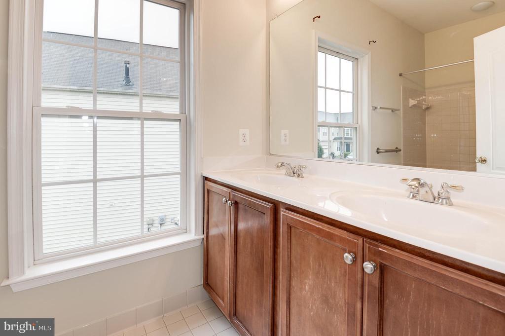 Hall bath; bath 2 of 2 - 42918 PARK BROOKE CT, BROADLANDS