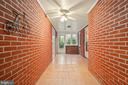 Breezeway makes great utility or mud room - 13709 STRAFFORD DR, THURMONT